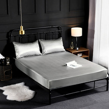 Bedding Luxury Like Lastic Fitted Sheet Mattress Cover Protector Bedspread Bed Sheet Elastic Band Bed Cover