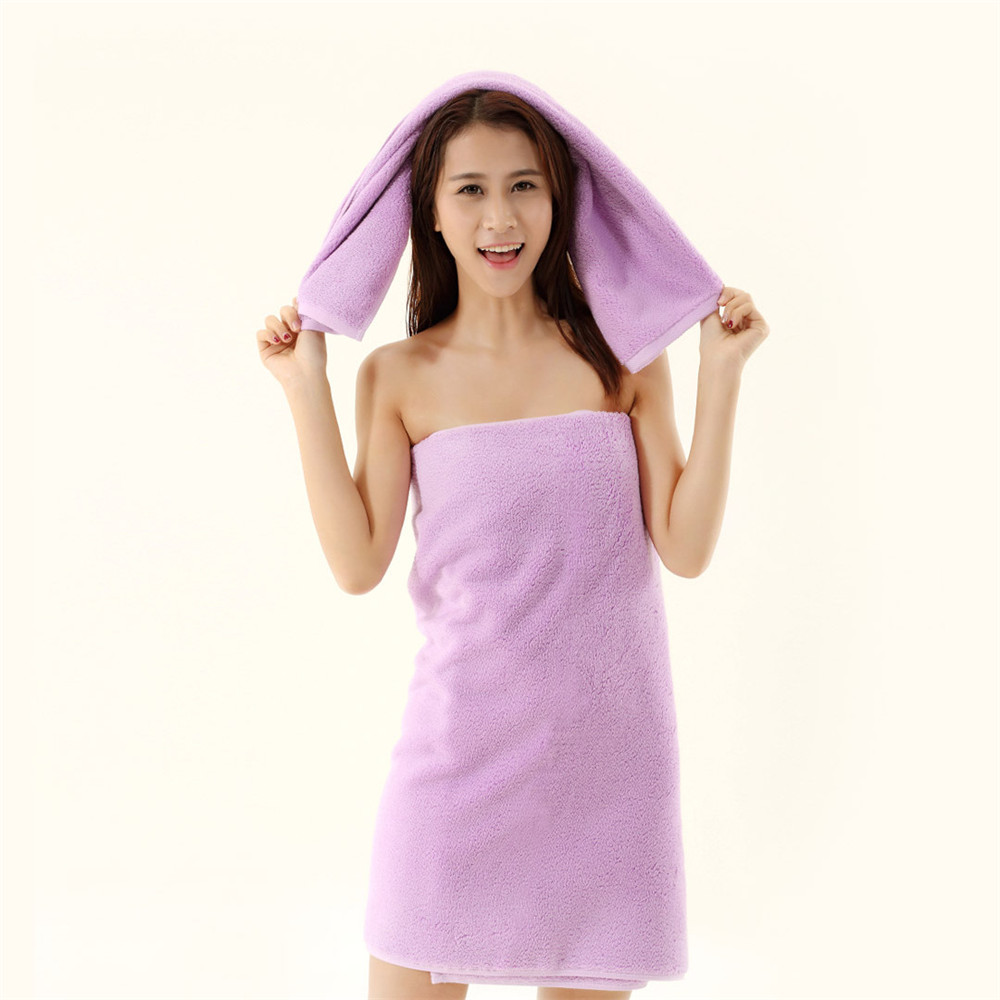 140X70cm Bath Towel 100% Cotton Absorption Water Face Hand Washcloth Bathroom Home Hotel new
