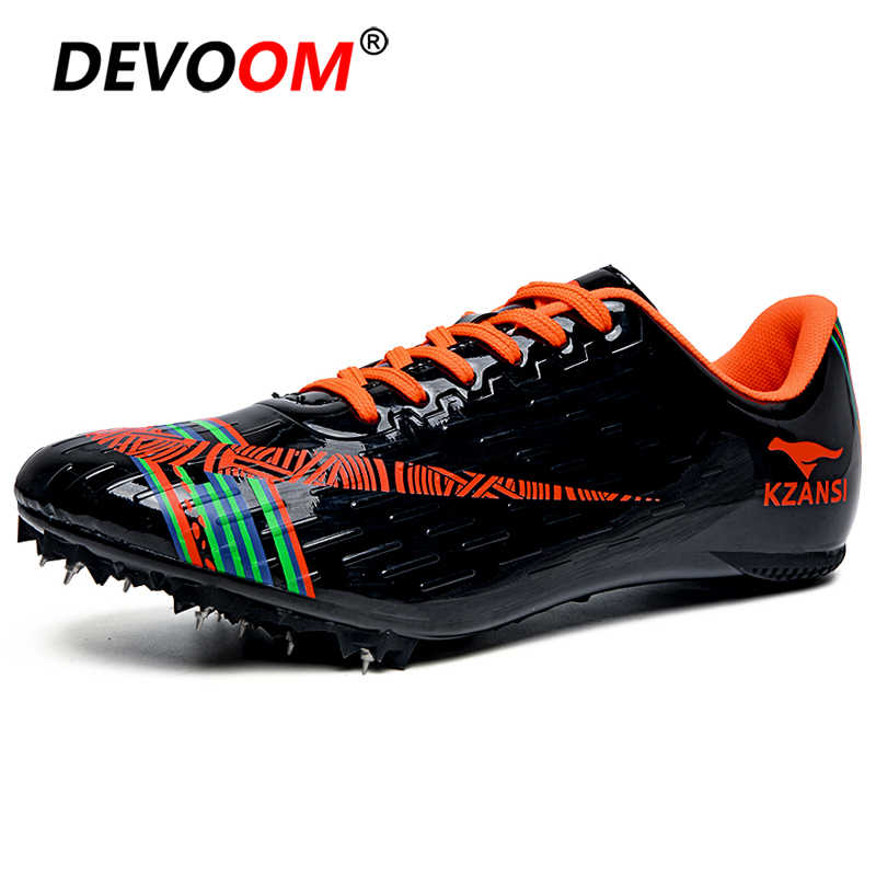 Nieuwe Spike Loopschoenen Mannen Vrouwen Atletiek Training Sportschoenen Professionele Track Race Springen Schoenen Sneakers Mannen 45