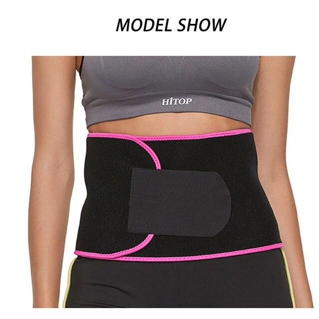Neoprene Waist Trainer Belt Unisex Body Shaper Suit Sweat Belt Premium Waist Trimmer Corset Shapewear Slimming Vest Underbust 1
