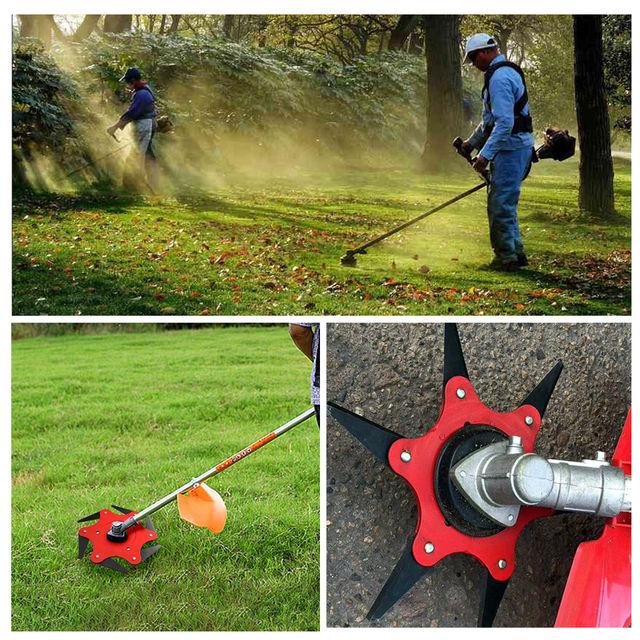 Blades Grass Cutting Head Cutting Head Garden Power Tool Accessories for Lawn Mower