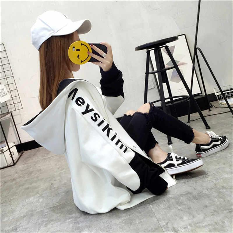 Yvlvol בתוספת גודל חדש נשים מעיל ברדס מעיל לאביב סתיו להאריך ימים יותר מעיל 2019