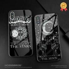 Ведьмы Луна Таро тайна Тотем стекло Мягкий силиконовый чехол для телефона крышка оболочка для iPhone 6 6s 7 8 Plus X XR XS 11 Pro MAX
