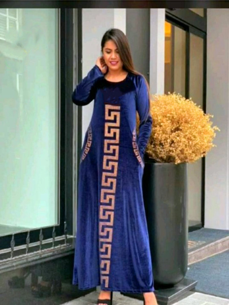 African Design Dashiki Dress Silk Beading Abaya Bandage Maxi Bazin Vintage Long Sleeve Robe Gowns Africa Sexy Lady Party