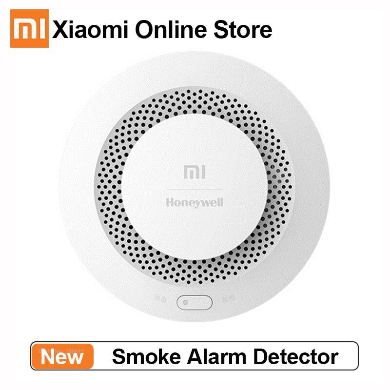 Оригинальная пожарная сигнализация Xiaomi с пультом дистанционного управления, детектор дыма