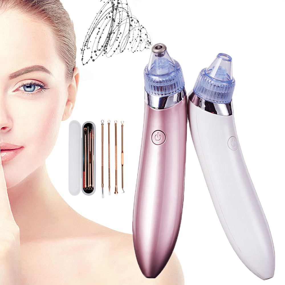 Facial Blackhead Remover Pore Cleaner Vacuum Peeling Dead Skin Acne Remover Device Cleaning Tool Blackhead Sucking Machine Gift