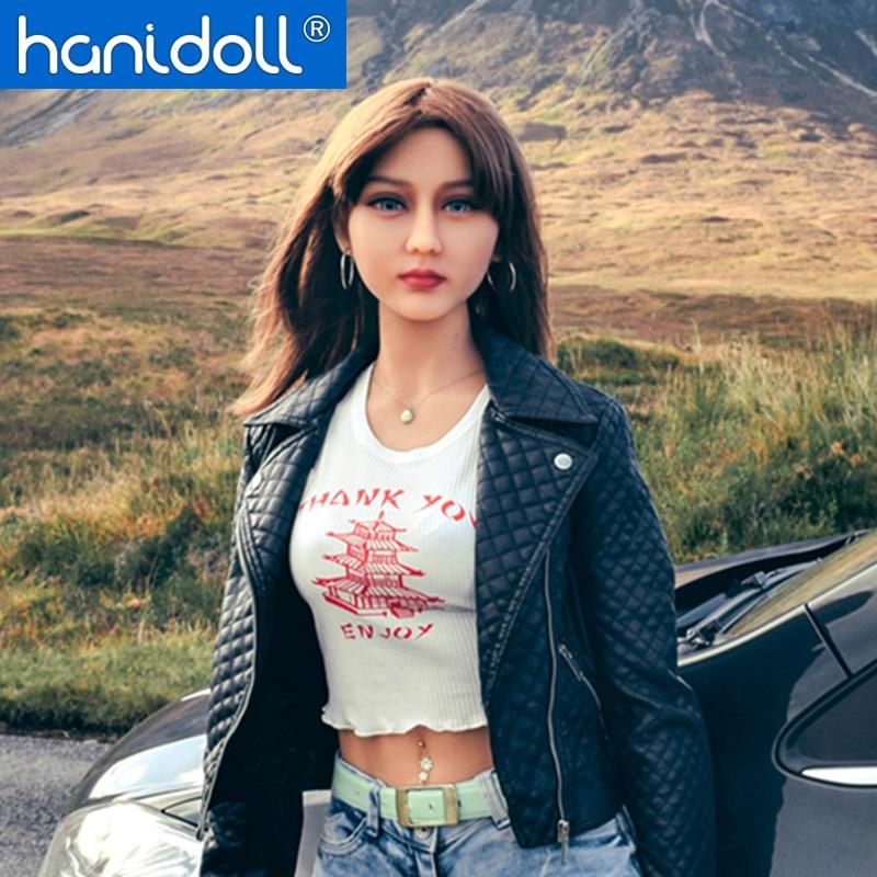 Hanidoll Silicone Sex Dolls 165cm TPE Sex Doll Realistic Breast Ass Lifelike Vagina Male Love Doll
