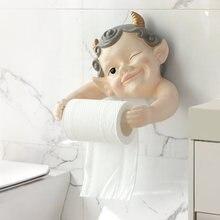 Милые для ванной комнаты и туалета кухонный дозатор ткани Бумага