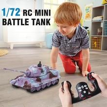 Миниатюрный пульт ДУ Управление 1/72 Р/У танки 2203 8-канальный цистерны гусеничный приводной танкер игрушки для детей, подарок на Рождество, дизайн
