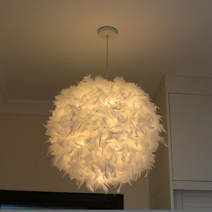 Image 2 - 220V Moderne Hanger Plafond Lamp Veer Plafond Droplight Slaapkamer Studeerkamer Decoratie Creatieve Kroonluchter Opknoping Lamp