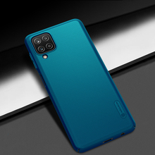 For Samsung Galaxy A12 Case Nillkin Super Frosted Shield Anti fingerprint shockproof Back Cover For Samsung A12 Case