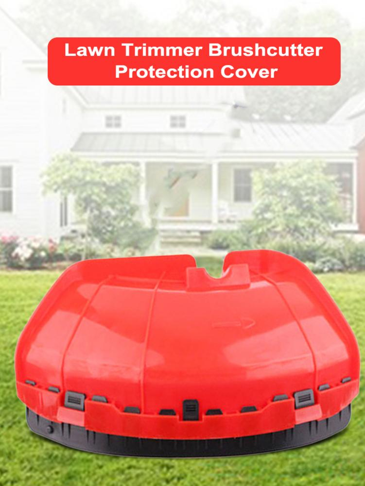 38x22cm Lawn Trimmer Brushcutter Protection Cover Brushcutter Blade Guard Lawnmower Accessories Garden Grass Brush Cutter Tools