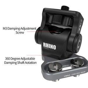 Image 2 - Testa di smorzamento regolabile M3 chiave regolabile DSLR Monitor per fotocamera Ballhead HD MI supporto per filo Clip per gabbia adattatore per cavo Rig
