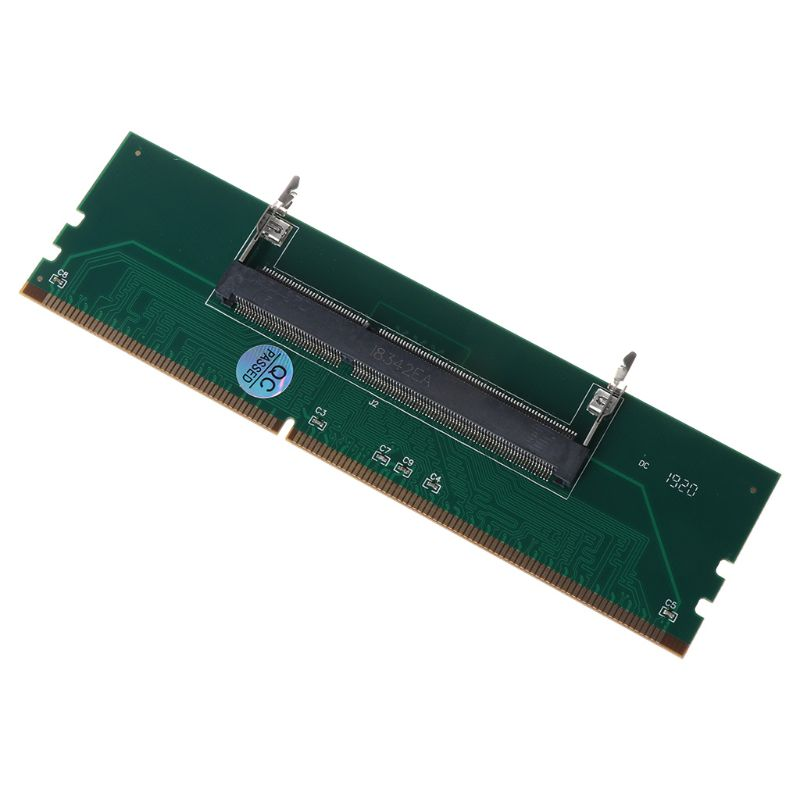DDR3 SO DIMM To Desktop Adapter DIMM Connector Memory Adapter Card 240 To 204P Desktop Computer Component Accessories