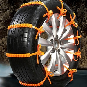 Image 4 - 10 teile/satz Auto Universal Anti skid Schnee Kette Off road Fahrzeug Notfall Krawatten