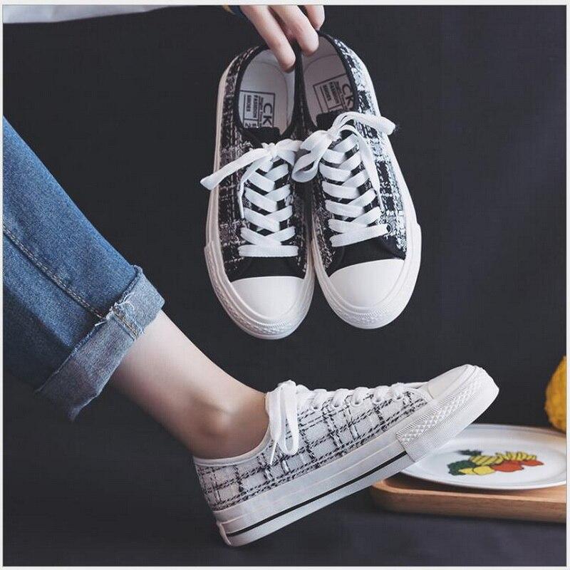 Купить сезон: весна/женская летняя обувь на высокой платформе; парусиновая