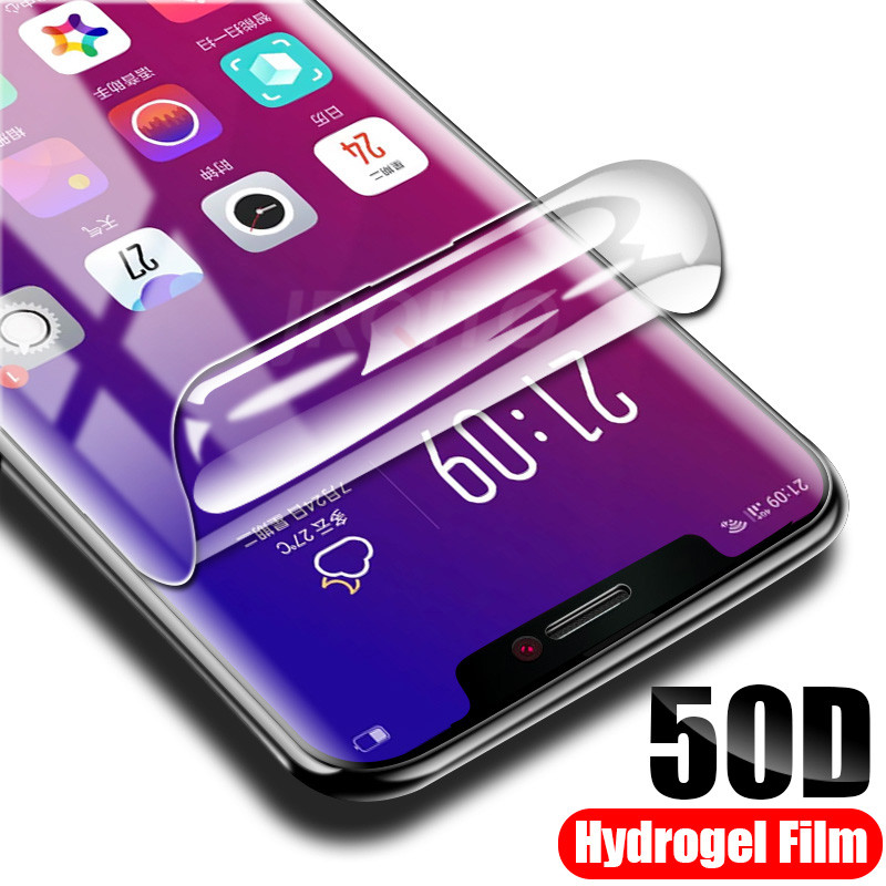 Hydrogel Film For IPhone 7 8 Plus 6 6s Plus Screen Protector IPhone X XS XR XS Max 11 Pro Max Soft Protective Film Not Glass