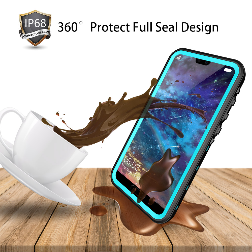 Image 3 - SHELLBOX Waterproof Case For Huawei P20/P20 Pro/P20 Lite/Mate 20 Pro Swimming Cover Case Phone Coque Water proof Phone CasesFitted Cases   -