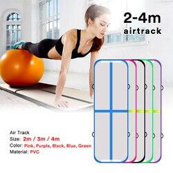 Gonfiabile Air Track 2m 3m 4m Ginnastica Professionale Airtrack Yoga Sport Wrestling Buffer di Prevenire Gli Infortuni Tumbling Stuoie