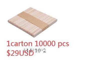 Drewniany patyczek 114*10*2mm 10000 sztuk x 5 do Guangzhou tanie i dobre opinie CN (pochodzenie) Drewna