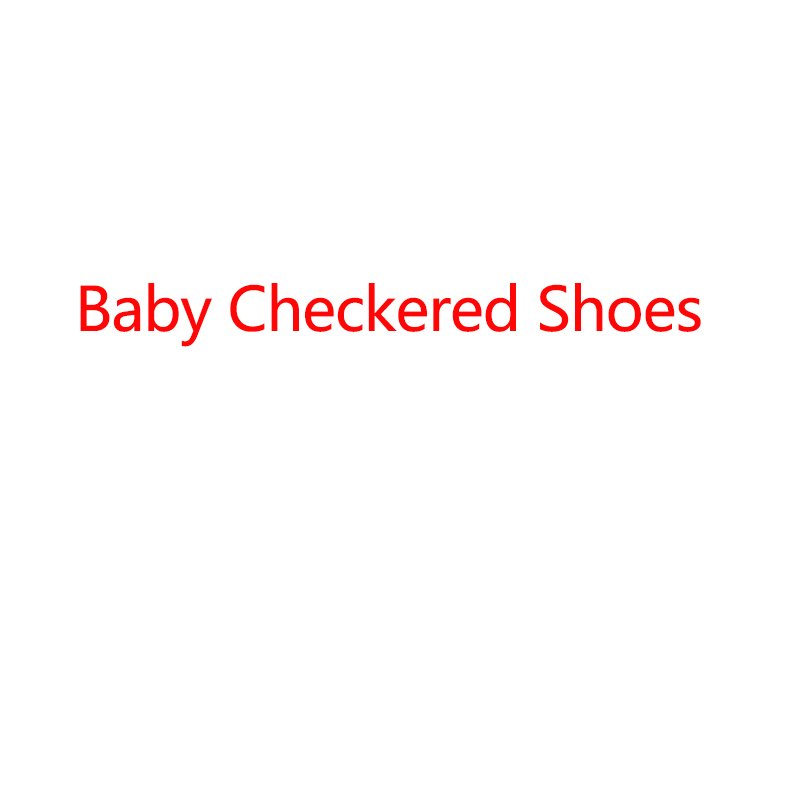 Baby Checkered Shoes(China)