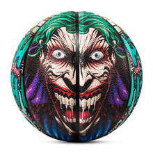 Баскетбольный мяч Kuangmi Joker, противоскользящий уличный мяч из полиуретана, Размер 7, для игры в помещении и на открытом воздухе, подарок для ко...