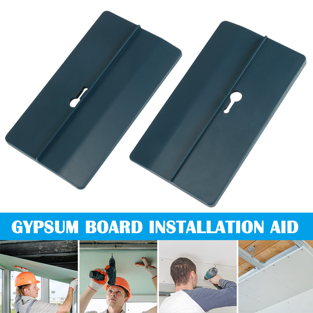 1 Pair Drywall Fitting Tools Supports The Board In Place While Installing QJS Shop