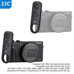 Image 2 - JJC BR E1 Wireless Remote Control Controller for Canon EOS M50 Mark II 6D Mark II R5 R6 R RP 90D 77D 850D 800D 200D II M200 M50