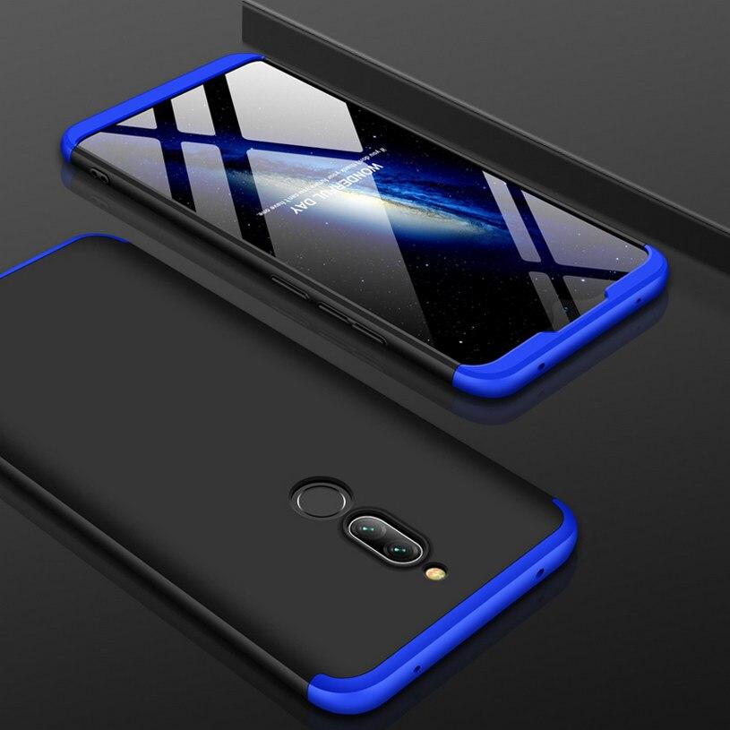 3-In-1 Full Protective Case For Xiaomi Redmi 8 8A Case Full Back Cover For Xiaomi Redmi Note 8 Pro Note8 Hard Phone Case