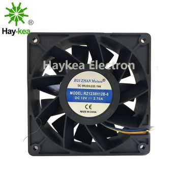 Inverter Cooling-Fan Server 12038 1238 12CM DC 12V 2.70A 120*120*38 mm PMW RZ1238H12B new original ebm papst dv4118 2npu dc48v 0 46a 120 120 38mm 12cm ip54 cooling fan typ4118n 6xmv 4 5w typ4118n