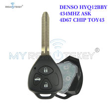 Дистанционный ключ remtekey denso hyq12bby для toyota camry