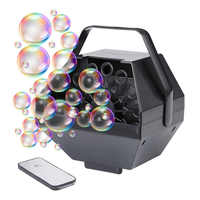 Bubble Machine Remote Control Party Birthday Wedding Bubbles AC 110-220V Bubble Blower Outdoor Toy for Kids