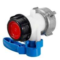 IBC Tank Container 1000L DN50 75Mm Liters 62Mm To Export Male 2 Inch Home Garden Butterfly Valve Switch Accessories Tools