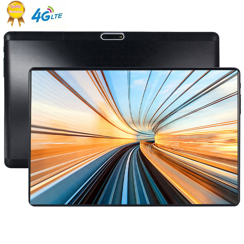 2.5D Multi-touch Screen Tablet 10.1 Inch Android 9.0 Octa Core 6GB RAM 64GB ROM 3G 1280*800 IPS 5.0MP SIM Card Ips Tablet Pc