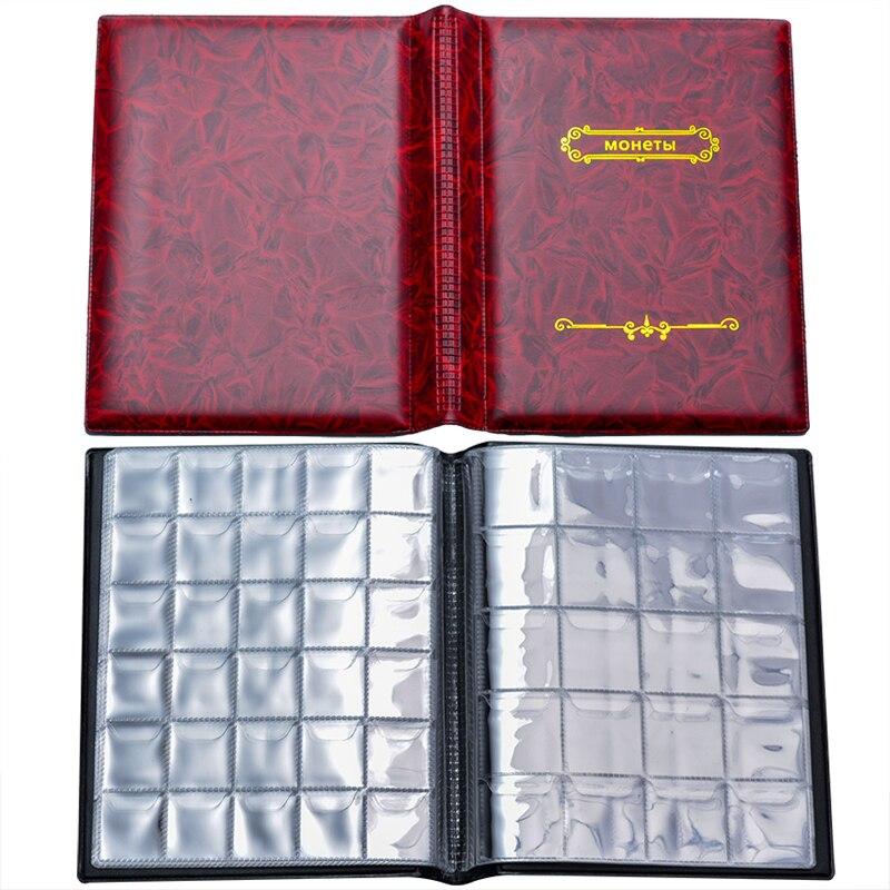 Собирая деньги Органайзер 250 карманы коллекция монет Альбом для коллектор монетница альбомов Мини Пенни Монета Сумка для хранения