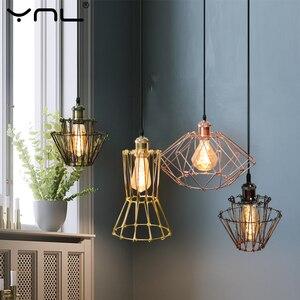 Скандинавские подвесные светильники DIY Сменные E27 85-265V Внутреннее освещение Современная подвесная потолочная лампа висящая в спальне кухня