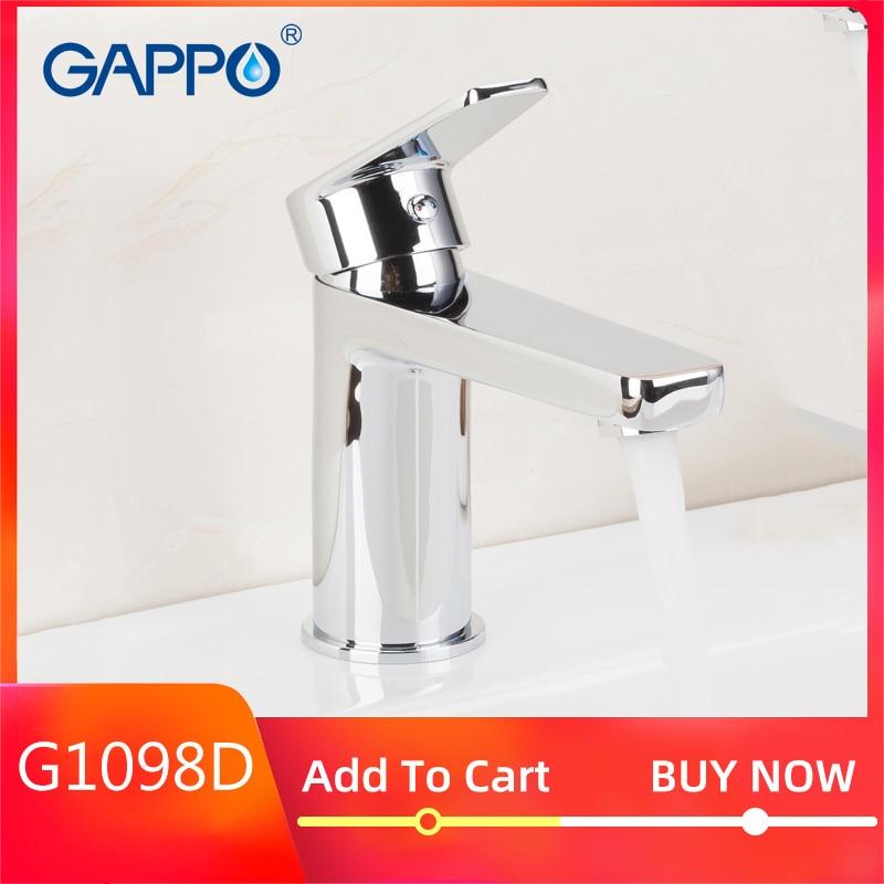 GAPPO basin faucet mixer chrome bathroom basin mixer tap bathroom taps torneira para banheiro wash basin sink faucet brass tap