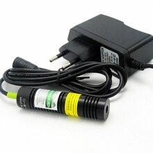532нм 10 мВт зеленый лазер диод точка модуль локатор резка станок дерево освещение эффекты +% 2B 5V адаптер
