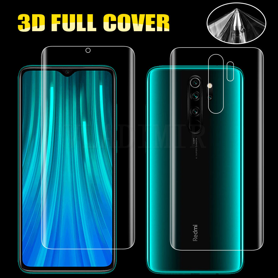 3D Hydrogel <font><b>Sticker</b></font> Silicone Film Screen Protector Film For Xiaomi Mi 9T Pro A2 lite POCO <font><b>Pocophone</b></font> <font><b>F1</b></font> Redmi K20 Note 8 7 6 pro image