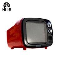 Dispositivo de TV portátil Retro Smart Mini HD, compatible con disco U, tarjeta SD integrada, sistema Android, WIFI, Internet, ver juegos de TV