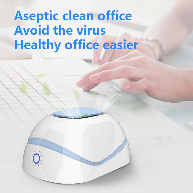 New Portable Air Purifier Indoor Purification Disinfection Mini Toxic Eliminator Home Decoration Home Office Daily Supplies
