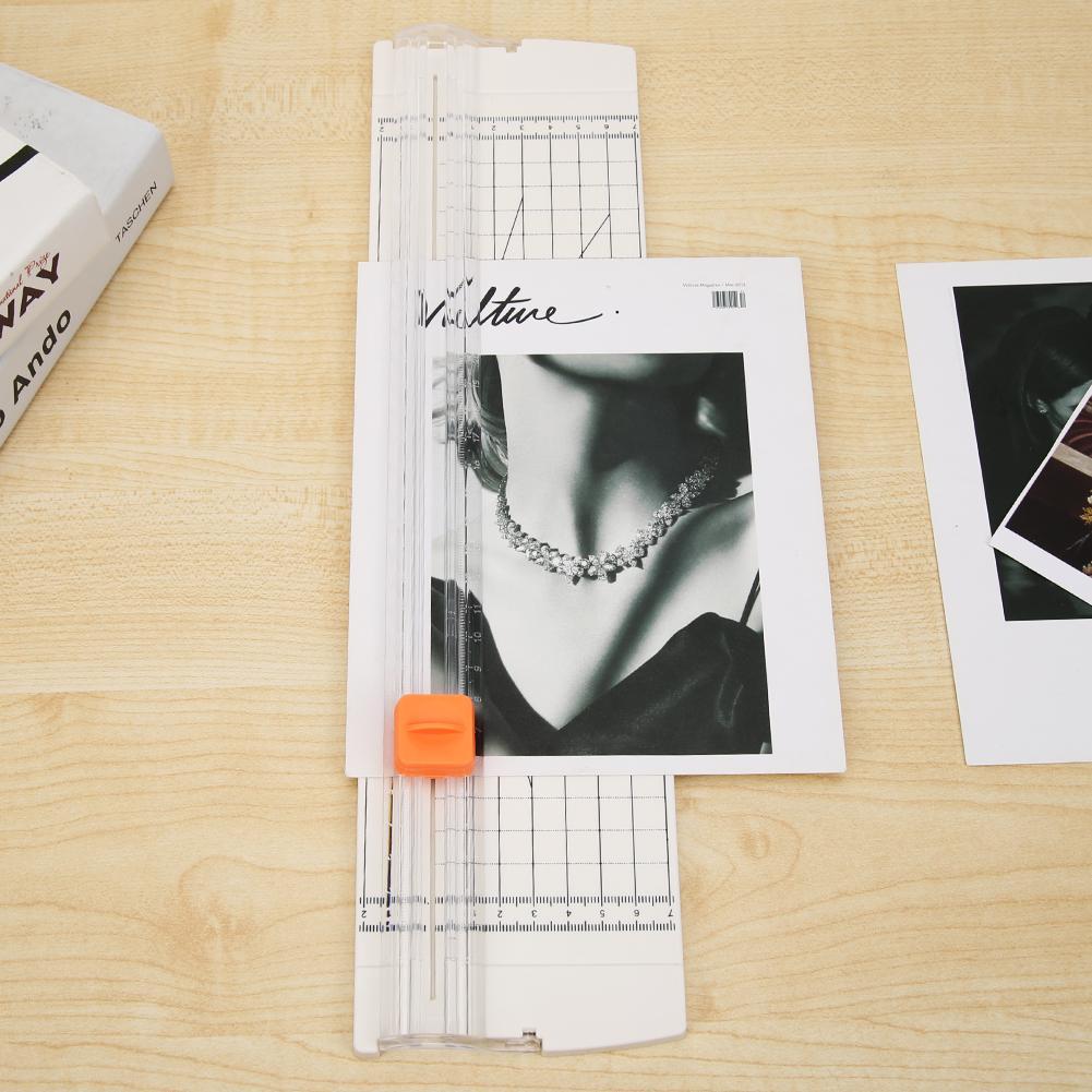 A4 Paper Cutting Machine Paper Cutter Office Trimmer Photo Scrapbook Blades-2