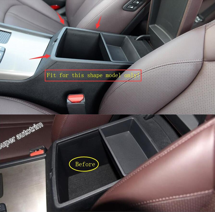 Lapetus Middle Storage Pallet Container Multifunction Box Cover Kit Fit For KIA Optima K5 2016 2017 2018 Plastic / Interior image
