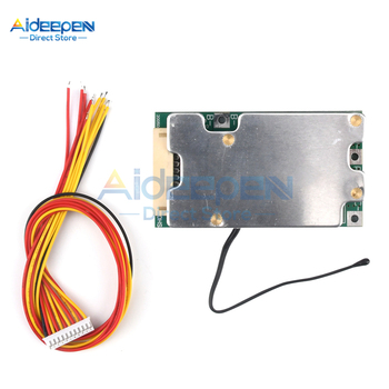 10S 36V 30A Li-ion Protection Board Li-ion Cell 18650 Battery Protection BMS PCB Board With Balance For Electric Car Inverter image