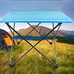 Portable Family Dinner Folding Table Camping Hiking trip Outdoor Picnic Fishing Outdoor Sports Table new alloy Ultra-Lightweight