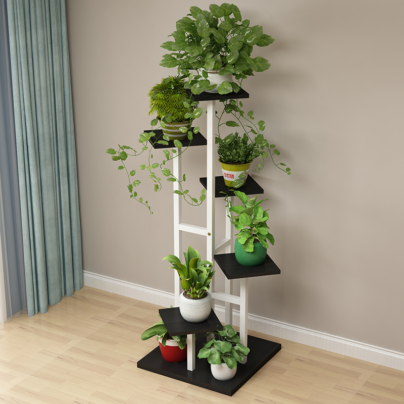 New Living Room Home Flower Shelf Multi-storey Indoor Special Step-type Space Space Orchid Meat Green Green Economical