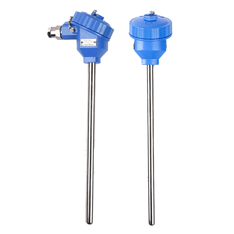 RTD PT100 Temperature Sensor Explosion-proof Thermocouple 4-20mA Probe Flange Threads Terminal -200 To 550 Celcius Thermocouple