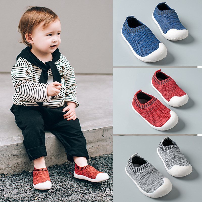 Autumn Infant Toddler Shoes Girl Boy Casual Mesh Shoes Soft Bottom Comfortable Non-slip Kid Baby First Walkers Shoes