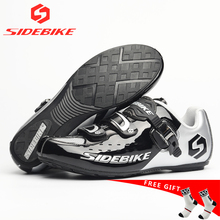где купить SIDEBIKE 2019 New Non-locking Cycling Shoes man women Mountain Bike Shoe Road Bicycle Shoes Riding bike Shoes size 36-45 по лучшей цене