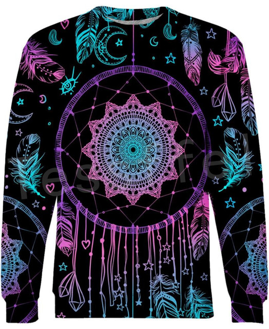 Tessffel Indian Native culture Harajuku Casual Colorful Tracksuit New Fashion Funny 3DPrint Unisex Sweatshirts Mens Womens s-4 5